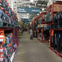 Photo taken at Bunnings Warehouse by Stephanie T. on 8/21/2016
