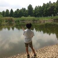 Photo taken at Toneri Park by Mitsu N. on 6/23/2013