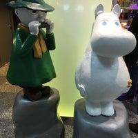 Photo taken at Moomin Shop by Kenjiro U. on 6/10/2017