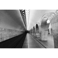 Photo taken at metro Kuznetsky Most by Alex K. on 6/15/2014