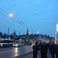 Photo taken at Seebrücke by Daniel S. on 12/22/2012