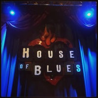 Photo taken at House of Blues by Cosmic 2. on 4/1/2013