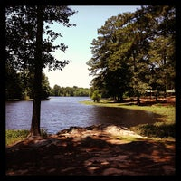 Photo taken at Gibsons Pond Park by Shawn D. on 6/13/2013