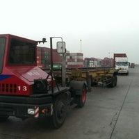 Photo taken at สถานีบรรจุและแยกสินค้ากล่อง ลาดกระบัง (Latkrabang Inland Container Depot) SRT3016 by Taan N. on 1/29/2015