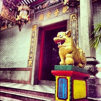 Photo taken at Guanyin Gumiao Temple by Ling Ling T. on 11/30/2012