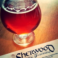 Photo taken at Sherwood Brewing Company by Joe N. on 12/22/2013