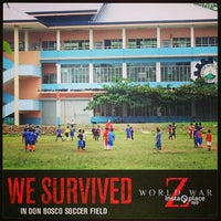 Photo taken at Don Bosco Technological Center by Ivy M. on 7/20/2013