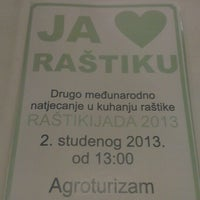 "Photo taken at Agrotourism ""Marića gaj"" by Janchi on 11/1/2013"