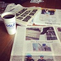 Снимок сделан в Oslo Coffee пользователем Benjamin P. 10/7/2012