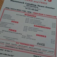 Photo taken at Five Guys by Julie C. on 10/7/2012