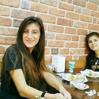 Photo taken at Öz Sarıyer Börekçisi by Beyza K. on 10/9/2015
