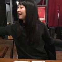 Photo taken at ハイカジ Korean Kitchen まだん お初天神店 by Sayaka N. on 12/19/2016