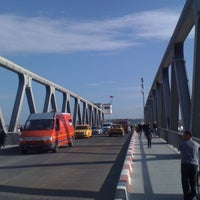 Photo taken at Pont de Bizerte by Mootez T. on 11/5/2012