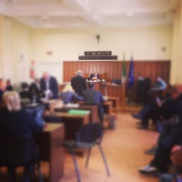 Photo taken at Tribunale di Frascati by SALA AVVOCATI FRASCATI on 4/7/2014