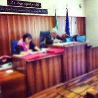 Photo taken at Tribunale di Frascati by SALA AVVOCATI FRASCATI on 4/11/2013