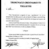 Photo taken at Tribunale di Frascati by SALA AVVOCATI FRASCATI on 3/25/2014
