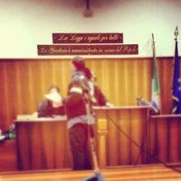 Photo taken at Tribunale di Frascati by SALA AVVOCATI FRASCATI on 11/26/2012