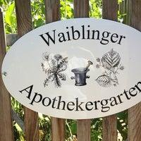 Photo taken at Apothekergarten Waiblingen by Damir S. on 7/20/2013