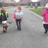 Photo taken at Vrije Basisschool Langemark by Cynthia 💋💄🎀 on 3/19/2018