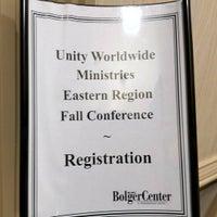 Photo taken at Bolger Conference Center Hotel by Ogun H. on 10/3/2016