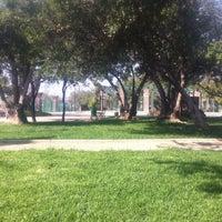 Photo taken at Parque Violeta Parra by Sabina P. on 5/8/2013