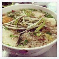Photo taken at Bún Mọc Thanh Mai by Brian Q. on 2/19/2013