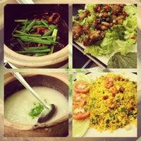 Photo taken at Ếch Xanh Restaurant by Brian Q. on 3/20/2013