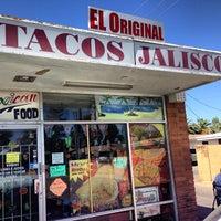 Photo taken at Tacos Jalisco 2 by Desert Smoke BBQ on 10/8/2012