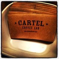 Photo taken at Cartel Coffee Lab by Desert Smoke BBQ on 10/30/2012