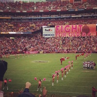 Photo taken at FedEx Field by Nichole P. on 10/7/2012