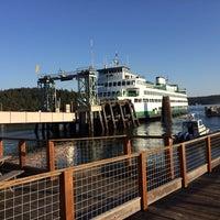 Photo taken at Orcas Island Ferry Terminal by Jason C. on 10/13/2013