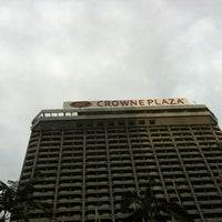 Photo taken at Crowne Plaza by ruzzane on 12/31/2012