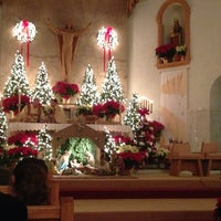 Photo taken at St. Anthony/St. Agnes Church by Toni 3. on 12/24/2012