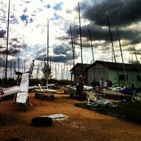Photo taken at Balatonfüredi Yacht Club (BYC) by Zsolt S. on 9/20/2012