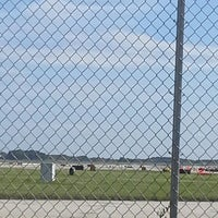 Photo taken at Viewing Area - General Mitchell Int'l Airport (MKE) by Nicole L. on 8/4/2013