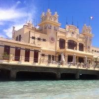 Photo taken at Spiaggia di Mondello by Galina S. on 5/14/2013