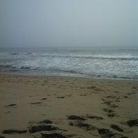 Photo taken at Belmar Beach by Arpie M. on 6/30/2013
