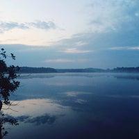 Photo taken at Озеро Інженерне, Яворівський полігон by Уляна Ф. on 8/6/2015
