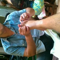 Photo taken at Suporn Foot Massage by Jack J. on 9/27/2013