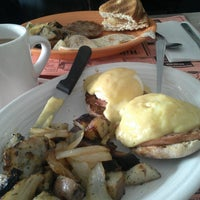 Photo taken at Rose's Hilltop Diner by Stephanie D. on 2/5/2015