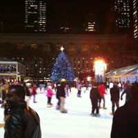 Photo taken at Bank of America Winter Village at Bryant Park by Sera E. on 12/11/2012