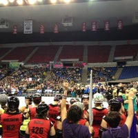 Photo taken at Veterans Memorial Coliseum by Alistair L. on 12/2/2012