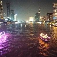 Photo taken at King Taksin Bridge by คุณ ว. on 11/3/2017