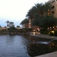 Photo taken at JW Marriott Phoenix Desert Ridge Resort & Spa by Scott M. on 10/24/2012