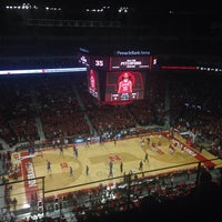 Photo taken at Pinnacle Bank Arena by Robert F. on 11/9/2013