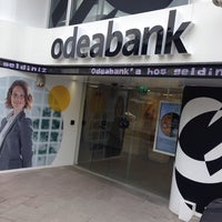 Photo taken at odeabank by İlker A. on 3/11/2014