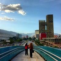 Photo taken at Metroplús - Estación Plaza Mayor by Jorge L. on 6/18/2013