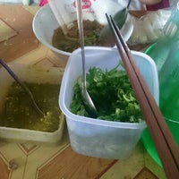Photo taken at Mie Ayam Ateng by Marshell S. on 7/16/2016