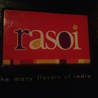 Photo taken at Rasoi by Melissa R. on 2/10/2013