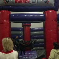 Photo taken at BounceU - Eatontown by Jerry S. on 12/8/2012